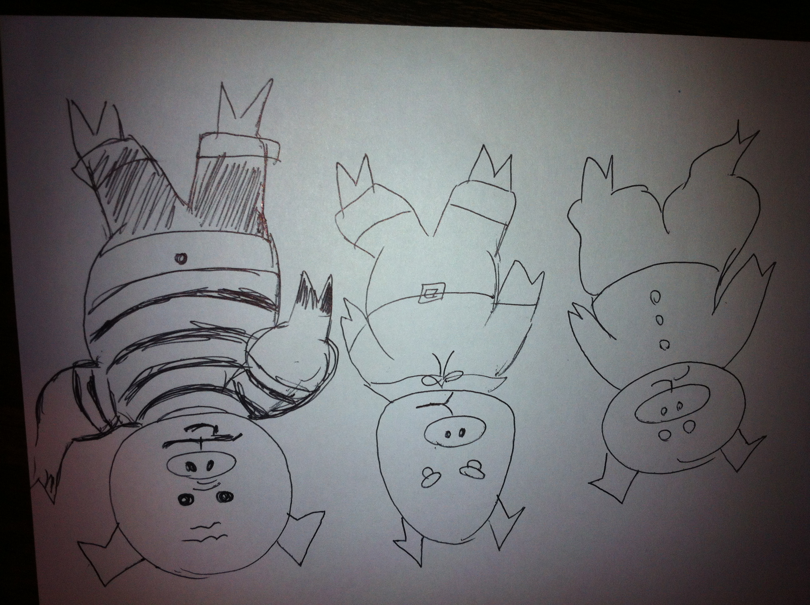 In Which My Webelos Retell The Three Little Pigs