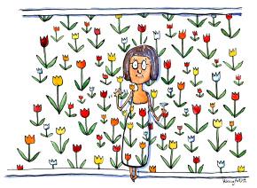 mother-in-flowerwallpaper